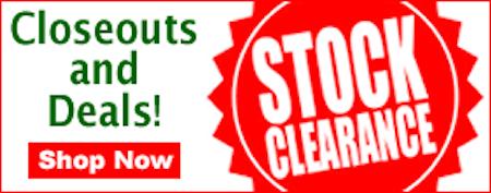 Huge Clearance Sale!