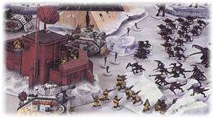 Diorama & Landscaping Supplies for Table Top Miniature Warfare